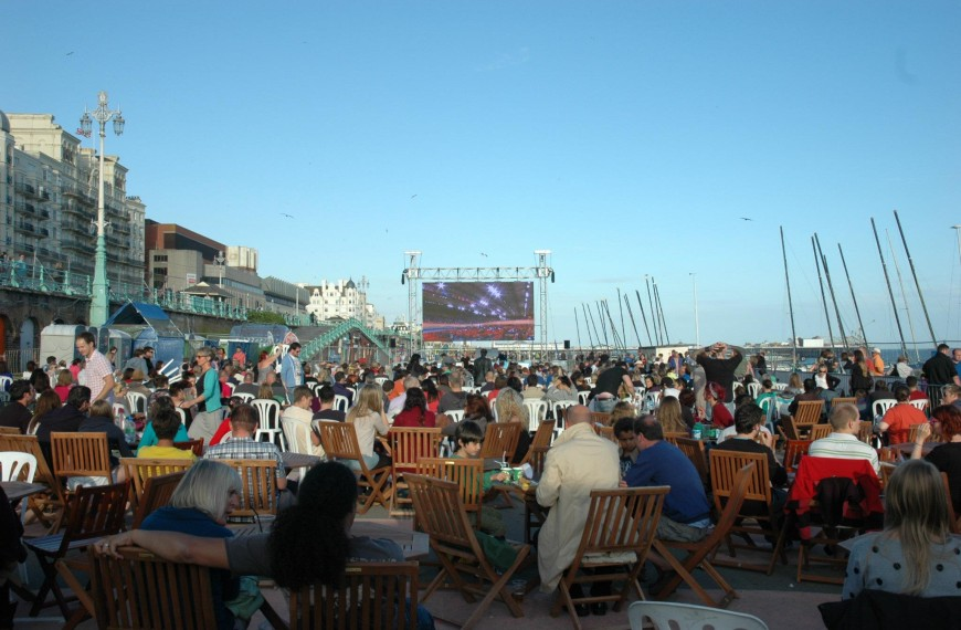 Brighton's Big Screen (Brighton Beach)